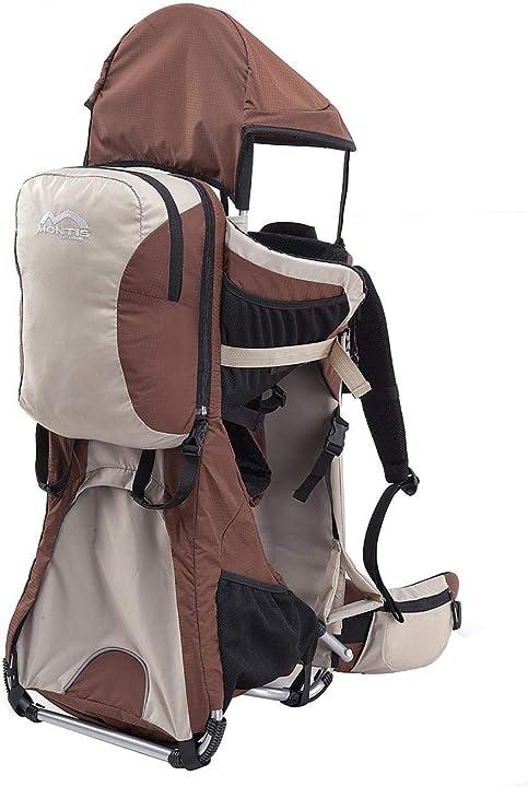 Zaino porta bambino - 25kg - diversi colori montis ranger pro B072KVNQB9