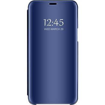 Funda Compatible con Samsung Galaxy A7 (2018) Espejo Transparente ...