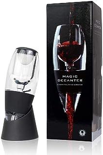 Todeco - Decantador de Vino Aireador, Decantador de Vino Tinto - Caja: Caja de regalo - Material: Silicona - Clásico