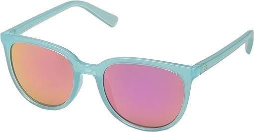 Translucent Seafoam/Gray/Pink Spectra