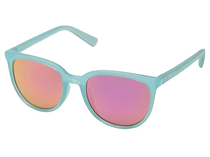 Spy Optic Fizz (Translucent Seafoam/Gray/Pink Spectra) Sport Sunglasses