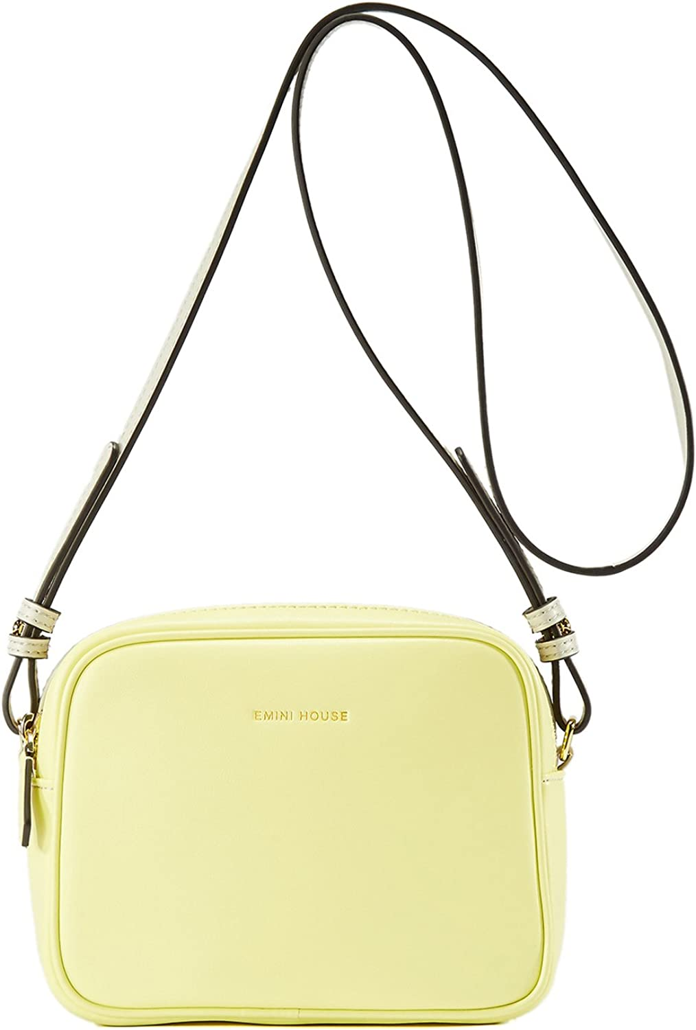 EMINI HOUSE Concise Style Shoulder Bag with Spliced color Women Bag