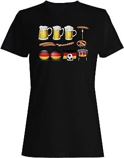 Amazon.es: Bandera alemana - Camisetas / Camisetas y tops: Ropa