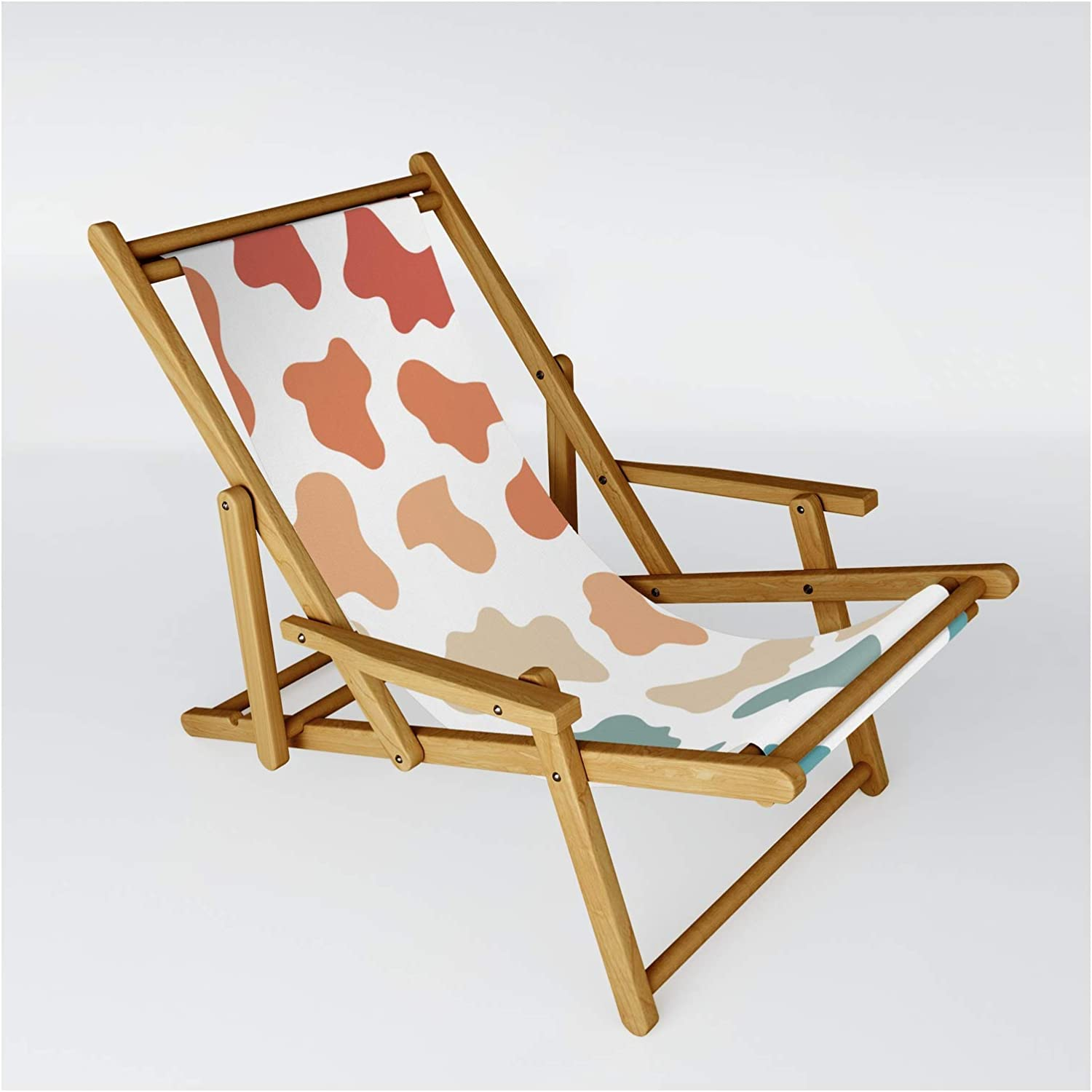 Society6 Retro Rainbow Cow Free shipping on posting reviews Pattern by Sling Max 68% OFF Chair Co. + Kate