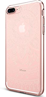 Spigen Liquid Crystal Shine Serisi Kılıf iPhone 7 Plus / 8 Plus ile Uyumlu / 4 Tarafı Tam Koruma - Shine Clear