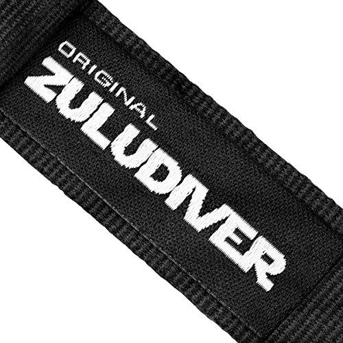 『ZULUDIVER G10 ナイロン 腕時計バンド 選べるカラー・サイズ バックル仕上げ 18mm Black / IP Black』の2枚目の画像