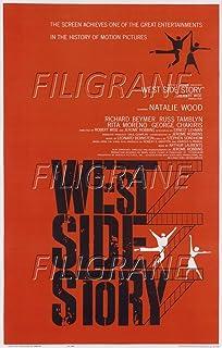 PostersAndCo TM West Side Story film Rznv-posters, 40 x 60 cm, d1 kinoplakaat