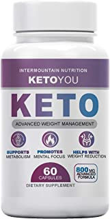 Ketoyou Keto, Keto You Keto Fuel, Advanced Weight Management, Support Metabolism, Promotes Mental Focus, The Official Bran...