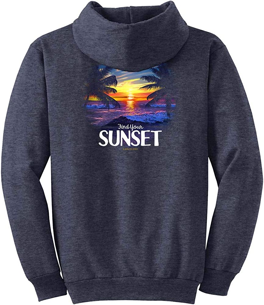 Koloa Surf Mens Selling rankings Serenity Classic Logo Pullover Columbus Mall Hoodie in Small-5