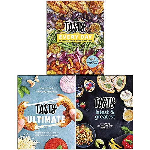 Tasty 3 Books Collection Set (Tasty Every Day, Tasty Ultimate Cookbook, Latest and Greatest)