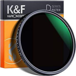 K&F Concept Filtro ND Variabile 40.5mm ND8-2000 (3-11 stop) Serie D in Vetro Ottico con Nano-Coating a 24 Strati per obiettivi 40.5mm