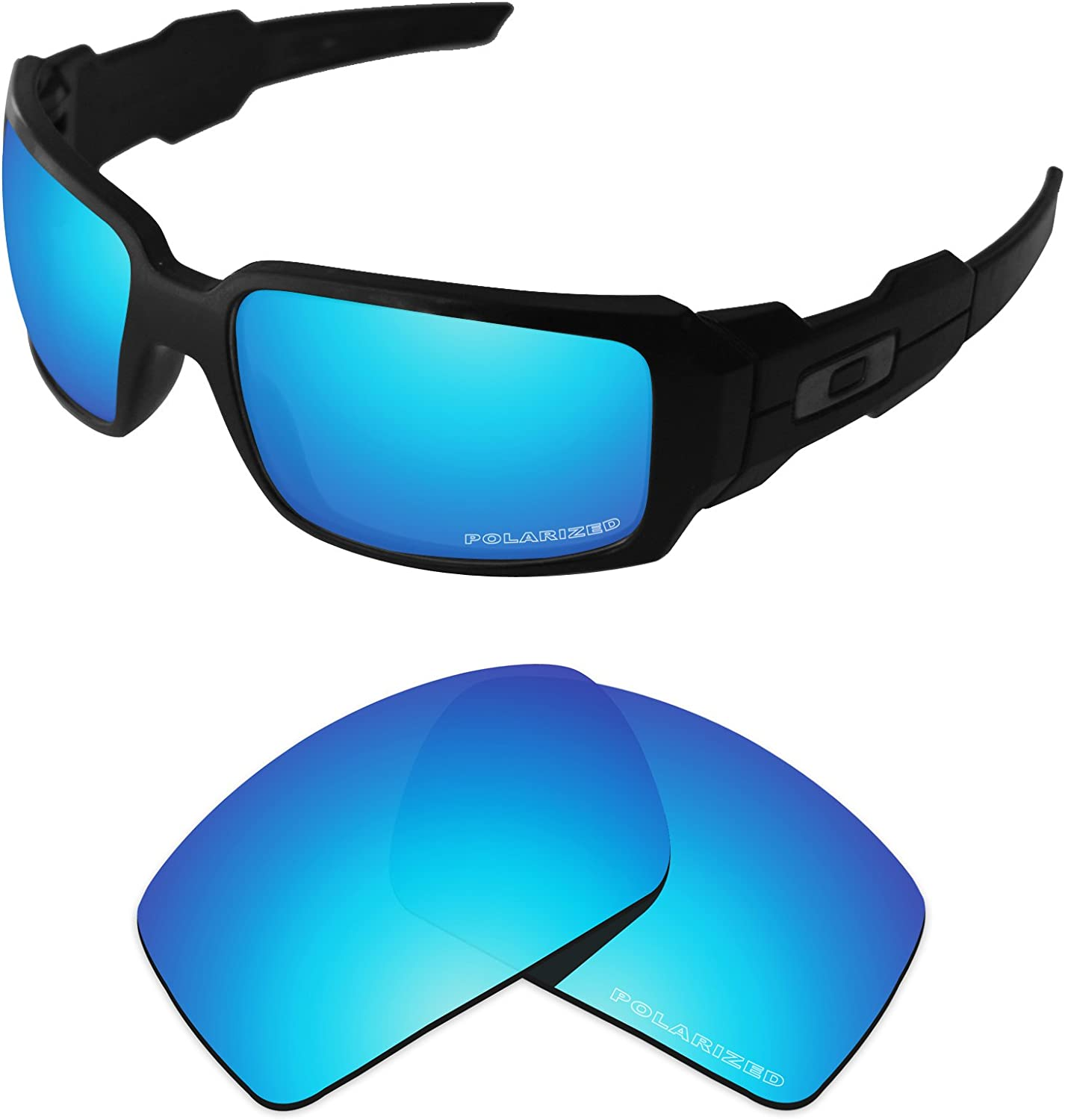 Tintart Performance Lenses Compatible with Oakley Oil Drum Polar