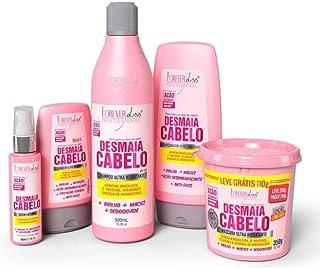 Kit Completo Desmaia Cabelo com Mascara de 350g