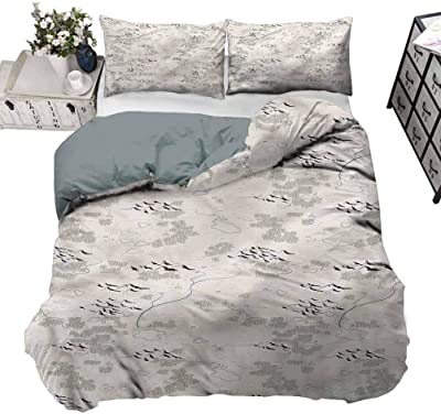 Luxury Designer Frill Flamouse Duvet Cover Set with Pillowcases