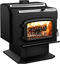 Drolet High-Efficiency Wood Stove – 95,000 BTU, Model# HT2000