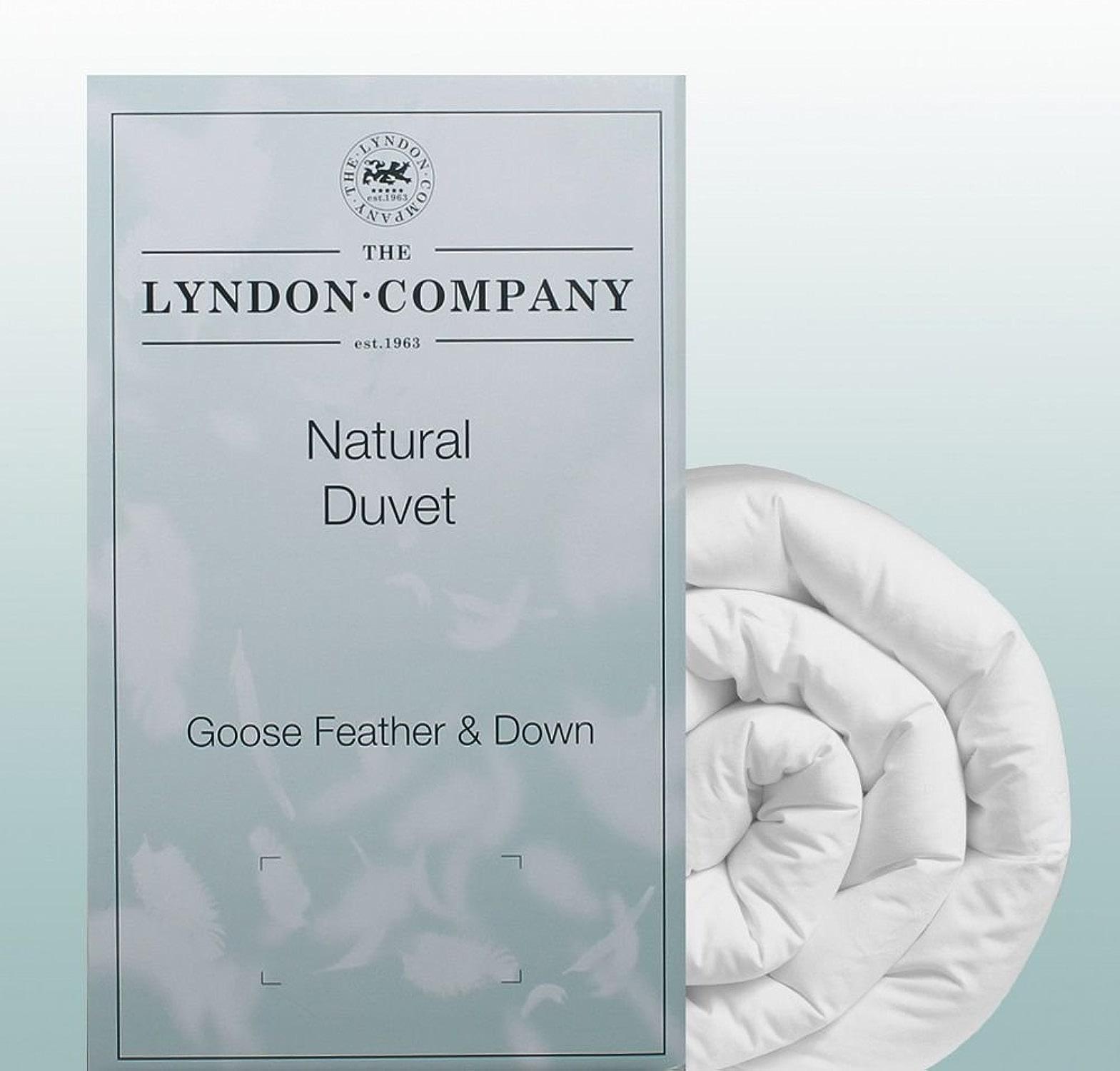 Lyndon Company la Couette en Plumes et Duvet d'oie 10,5Tog (Super King)