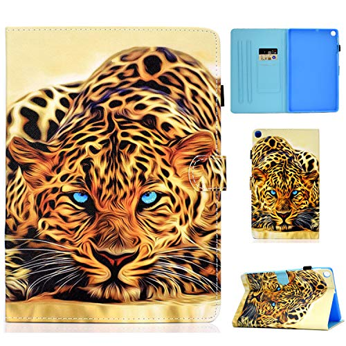 WHWOLF Suitable for Samsung Galaxy Tab A7 10.4 Case 2020 SM-T500/ SM-T505 Tablet Case with Card Holder & Fold Stand & Magnetic Clasp & Silicone TPU Protective Flip Cover Shell -q51