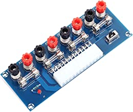 Icstation ATX Breakout Board 24 Pin Benchtop Power Board PC Computer Power Supply Adapter Module 12V 5V 3.3V