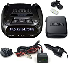 Uniden DFR7 Super Long Range Radar/Laser Detection GPS with Hardwire Kit