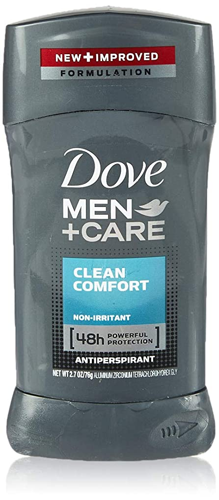 ブラシ技術気づかないDove Men +Care Invisible Solid Deodorant, Clean Comfort (並行輸入品)