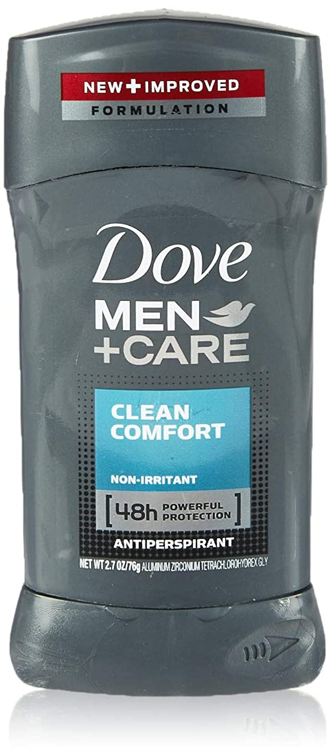コロニアルトンネル暴徒Dove Men +Care Invisible Solid Deodorant, Clean Comfort (並行輸入品)