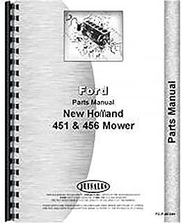 New Holland 451 456 Mower Parts Manual