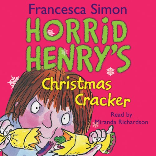 Horrid Henry's Christmas Cracker audiobook cover art