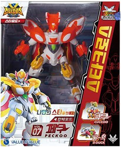 Starcross PECKOO(D-duck+Cuckoo) Combi Robot de transformation - livraison (dans les 7 jours)