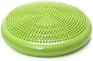 Bloodyrippa Inflated Stability Wobble Cushion, Balance Air Cushion Disc for Core Fitness Exercise, Wiggle Seat for Sensory Kids, Suitable for Office, Home, School, Pump Included