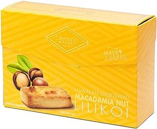 Diamond Bakery Hawaiian Shortbread Macadamia Nut Cookies, Lilikoi 4 ounce (113g)