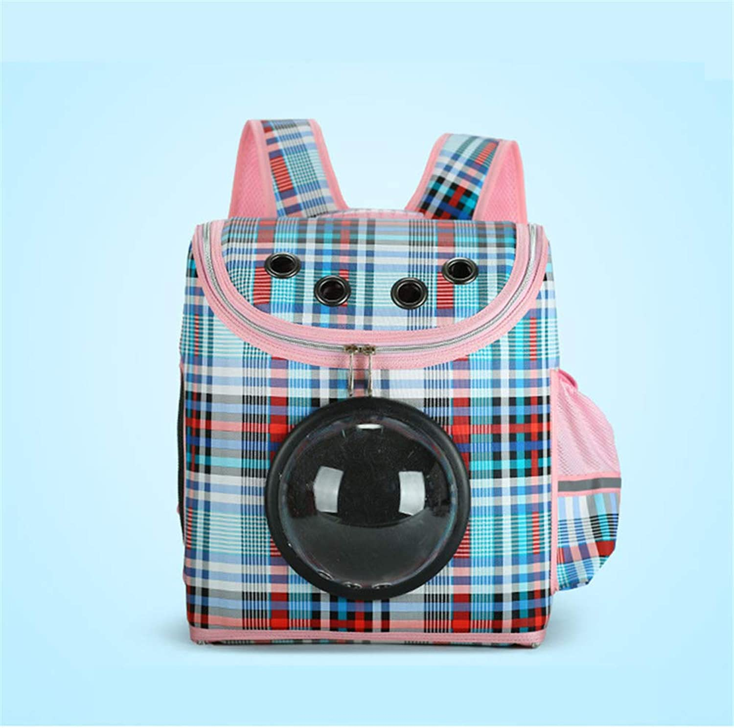 QZQWQNA Small Pet Backpack Carrier Dog Shoulder Bag Cat Puppy Mobile Bed Airplane Carrier Car Seat Travel Tote Cage Space Capsule