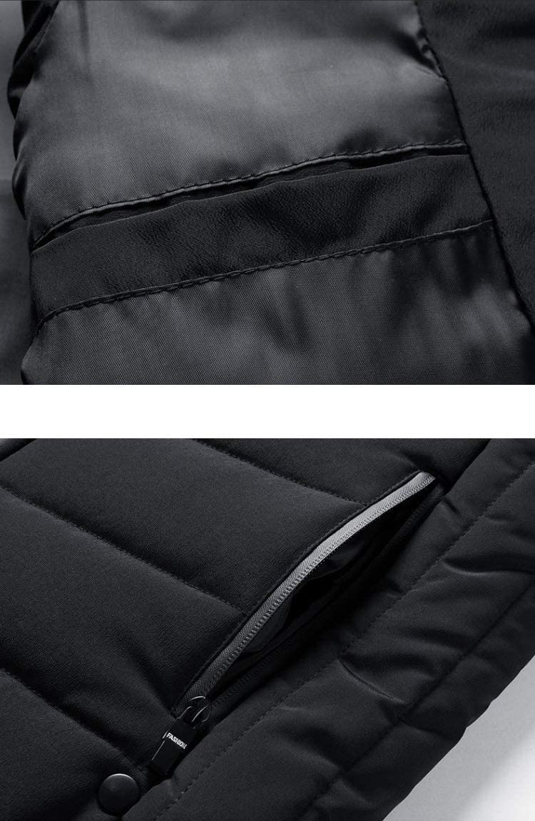 LYLY Vest Women Mens Vest Solid Autumn Warm Sleeveless Jacket Men Winter Casual Waistcoat Male Outwear Plus Size Vest Coats Vest Warm (Color : CC363 Red, Size : 4XL)