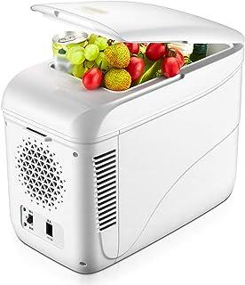 LJMG Outdoor Refrigerators Car Refrigerator 9L Portable Picnic Refrigerator / 12V car / 220V Home/Mini Fridge Freezer/Dormitory Refrigeration Refrigerator,Mute,Energy Saving