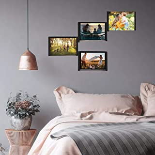 SITENG Leggy Horse Picture Frames 4 x 6 inch Flexible DIY Collage Photo for Table Desk Display Wall Decor Creative Gift Black