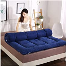 Japanese Tatami Mattress Futon Mattress, Soft Thick Quilted Mattress for Student Dormitory, Home, Bed, Floor, Single Twin ...