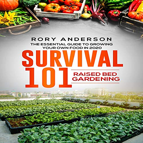 Survival 101 Raised Bed Gardening  By  cover art