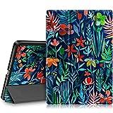 FINTIE Custodia per iPad 9.7 Pollici 2018 2017, iPad Air 2, iPad Air - Sottile Leggero Cover Protettiva Case con Auto Sveglia/Sonno Funzione, Jungle Night