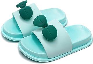 Kids Beach/Pool Slide Sandals Non-Slip Summer Water Shoes Boys Girls Shower Slippers(Toddler/Little Kids)