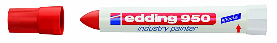 edding Industry Paint Marker - Red (Box of 10)
