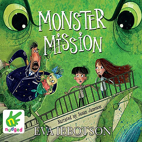 Monster Mission audiobook cover art