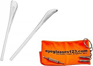 نظارات شمسية من راي بان RB3025 Clear Temple Tips