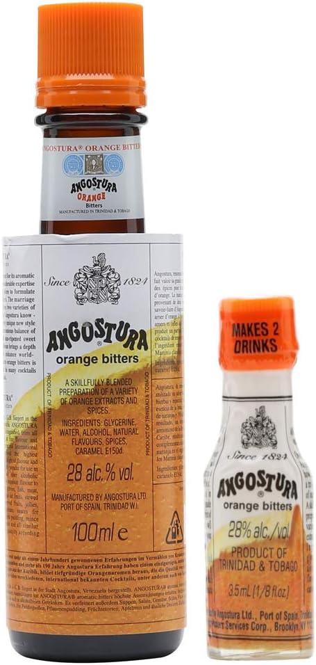 Angostura Orange Bitters 100ml and 3.5ml Miniature
