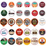 Variety Pack Sampler, Assorted Single Serve Coffee Pods for Keurig K Cups Coffee Makers, 30 Unique Cups - No Duplicates…