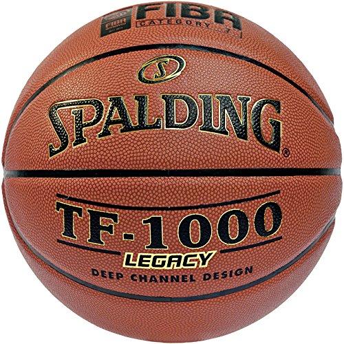 Spalding Ball Tf1000 Legacy 74-485z Basketball, orange, 5