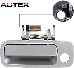 AUTEX Silver Exterior Front Left Driver Side Door Handle Compatible with Toyota Camry 1997 1998 1999 2000 2001 Door Handle 79426, 6922033040, 69220-33040 6922033040C0