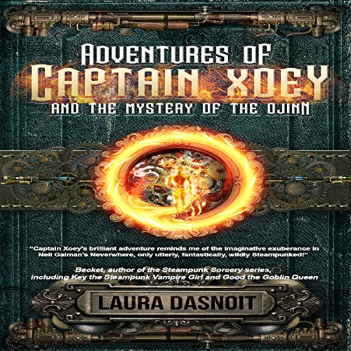 Adventures of Captain Xoey and the Mystery of the Djinn audiobook cover art
