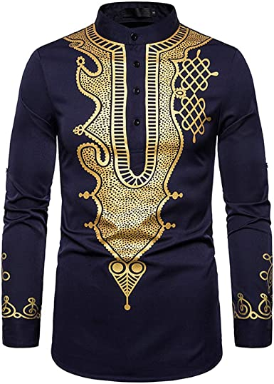 Janjunsi Camisa Musulmana de Ropa Islámica para Hombres - Arabia Saudita Dubai Abaya Jubba Thobe Kaftan
