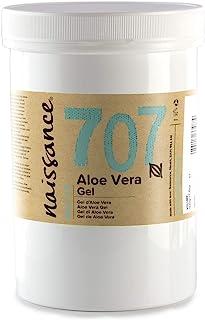 Naissance Gel de Aloe Vera n. º 707 – 500g - Vegano y no probado en animales - Refrescante calmante e hidratante para tod...