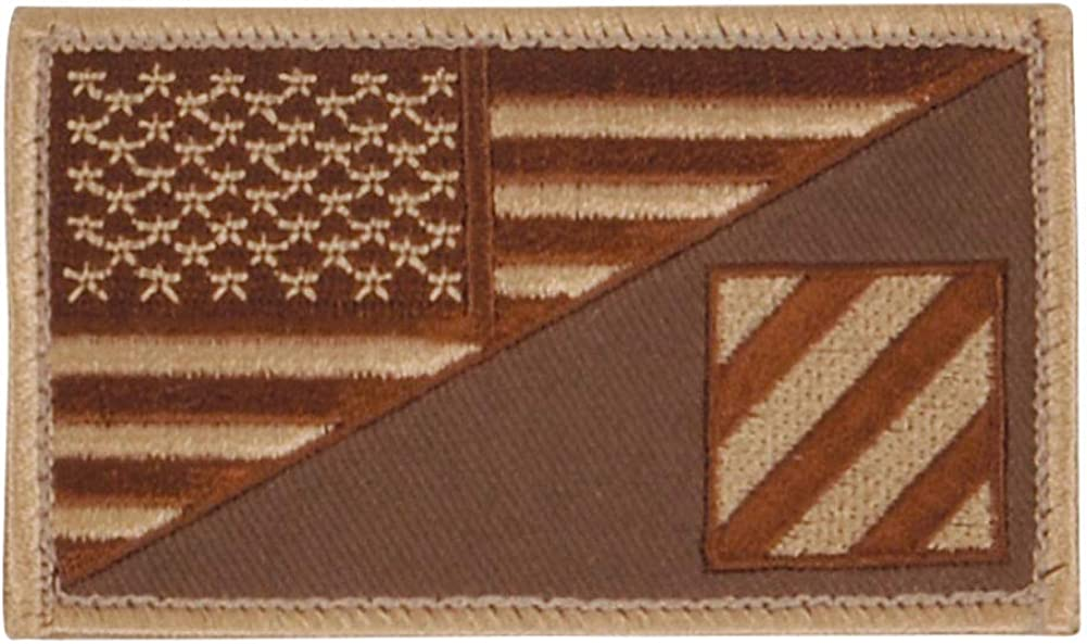 3rd Infantry US Flag Patch Hook Special Campaign Loop
