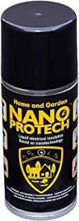 NANOPROTECH Home and Garden All Purpose Outdoor Invisible Coating Water Protection Fluid Film Avoid Short Circuits Long Term Electrical Parts Insulation Smart Straw Spray Multi-use Premium USA